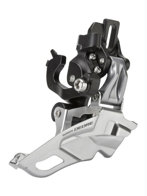 Shimano Deore FD-M611 Umwerfer 3x10-fach Schelle Top-Pull schwarz